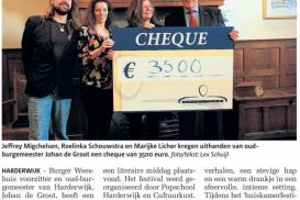 Burger Weeshuis steunt Donkere Dagen Festival
